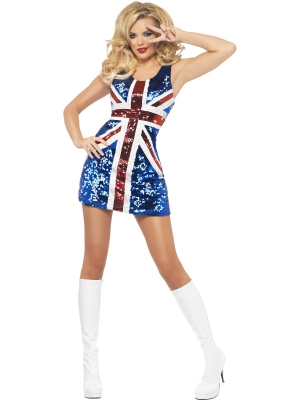 All that Glitters Rule Britannia Costume