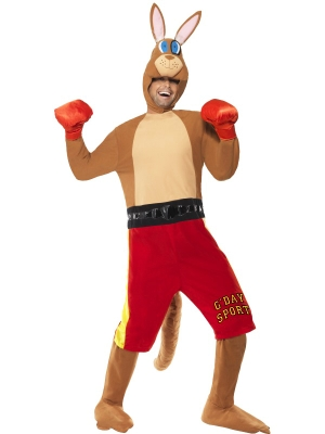 Kangaroo Boxer Costume (men / women)
