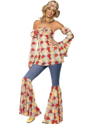 Vintage Hippy 1970s Costume