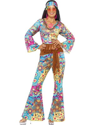 Hippy Flower Power Costume