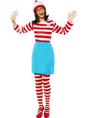 Wheres Wally? sieviešu kostīms