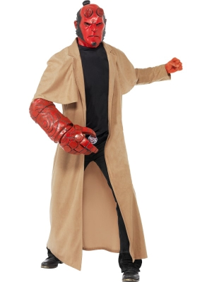 Hellboy Costume with mask