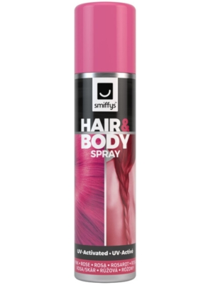 Hair and Body Spray, UV Pink, 75 ml