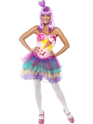 Katy Perry Candy Queen Costume