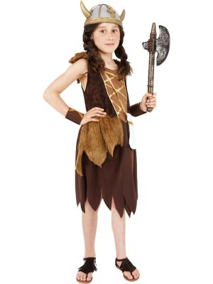 Vikingu meitenes kostīms