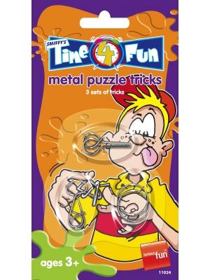 Metāla puzzles triki