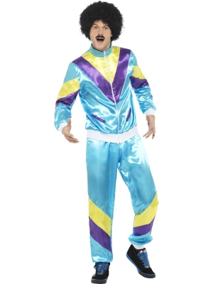 80`s Height of Fashion Shell Suit Costume