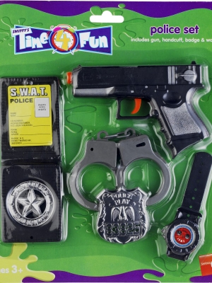 Police Set with Gun