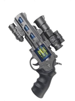 Револьвер  со светом и звуком