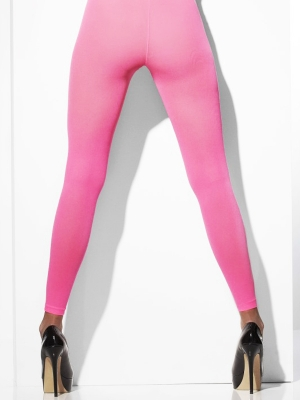 Tights, neon pink