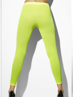 Tights, neon green