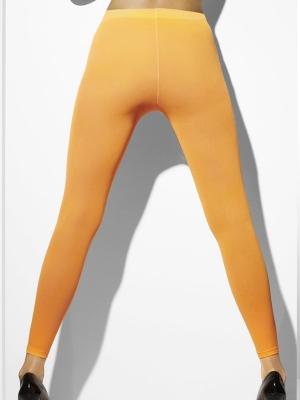 Леггинсы, неоно оранжевые