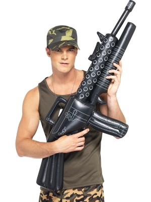 Надувной пулемет, 112 см
