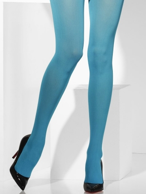 Tights, blue