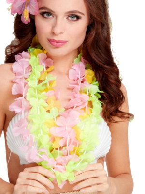 3 pcs, Hawaiian Lei