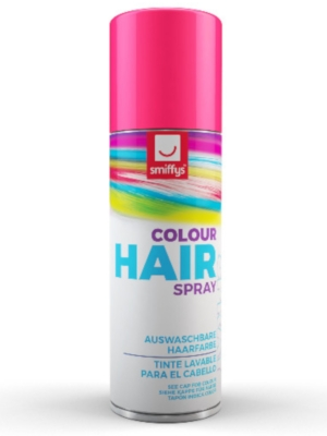 Hair Colour Spray, Pink, 125 ml