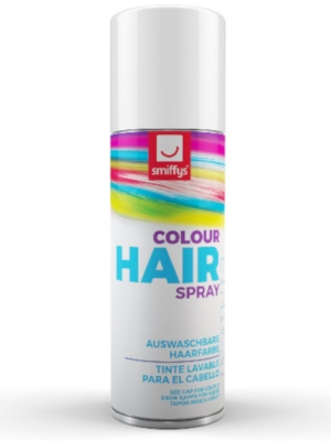 Hair Colour Spray, White, 125 ml