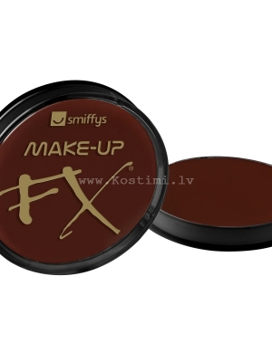 Dark Brown Face and Body Paint, 16ml