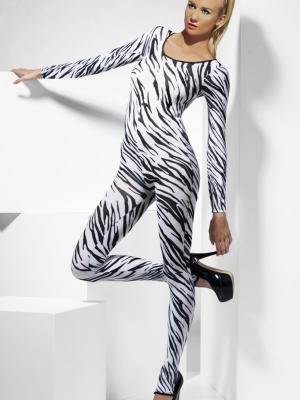 Боди с принтом зебры