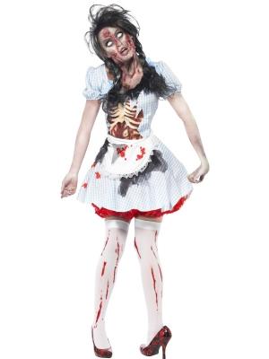 Zombija lauku meitenes Dorotijas kostīms