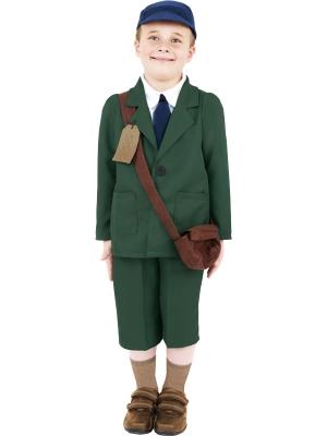 World War II Evacuee Boy Costume