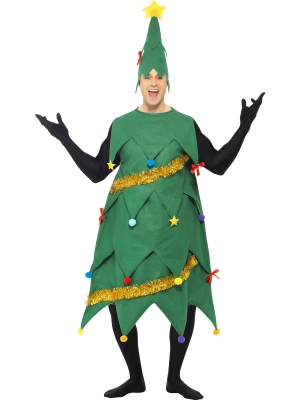 New Deluxe Christmas Tree Costume