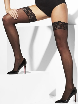 Stockings, black