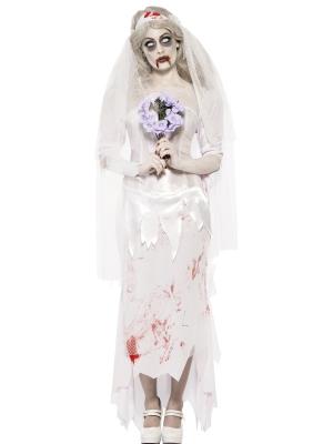 Zombija-līgavas kostīms