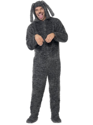 Fluffy Dog Costume (men / women)