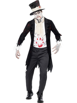 Till Death Do Us Part Zombie Groom Costume