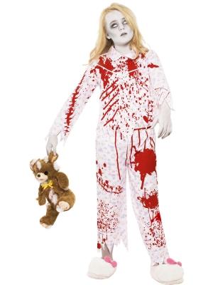 Kostīms Zombijmeitene pidžamā