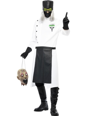 Trakā daktera kostīms