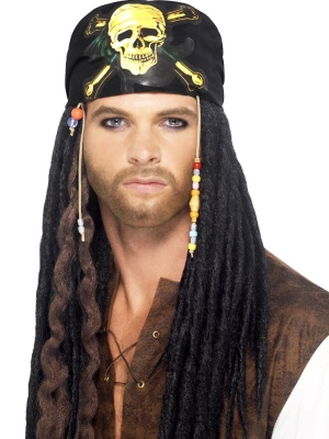 Pirate Dreadlocks Wig