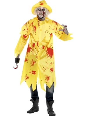 Zombie Sou`wester Costume with Hat