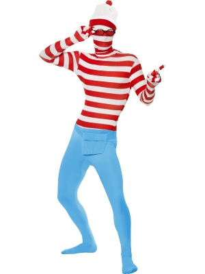 Where`s Wally? Second Skin Costume