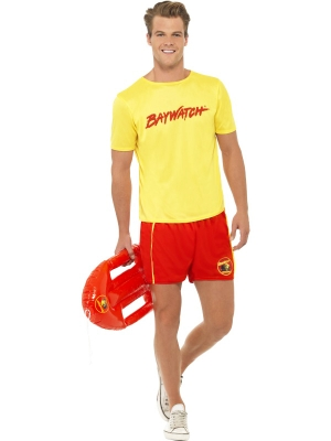 Baywatch Men`s Beach Costume