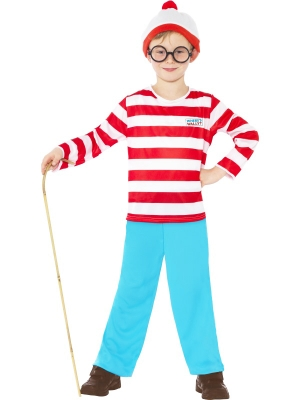 Where`s Wally? Costume