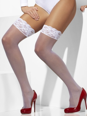 Stockings, white