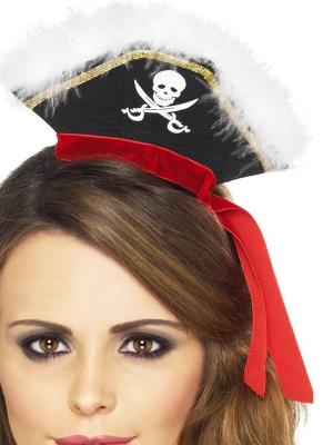 Pirātu mini cepurīte