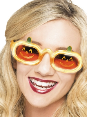 Pumpkin Light Up Specs