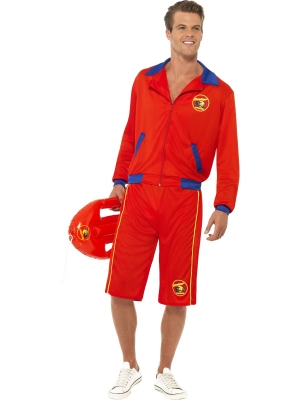 Baywatch Beach Men`s Lifeguard Costume