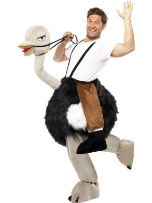 Ostrich Costume With Fake Hanging Legs (men / women)