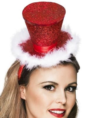 Burleskas stila mini cepure