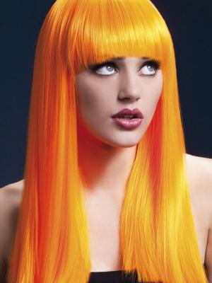 Parūka  Aleksija, neona oranža