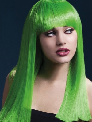 Parūka Aleksija, neona zaļa