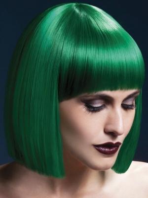 Parūka Lola, zaļa, 30 cm