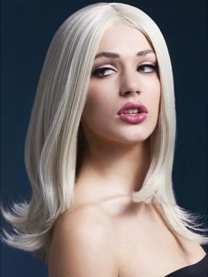 Parūka Sofija, blonda, 43 cm