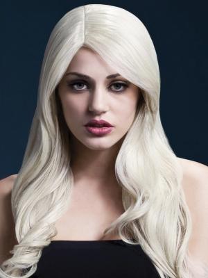 Parūka Nikola, blonda, 66 cm