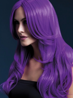 Khloe Wig, Neon Purple