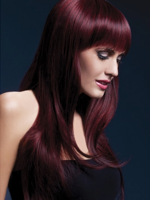 Sienna Wig, Black Cherry